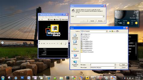 windows virtual pc windows xp mode applications running media player classic windows 7